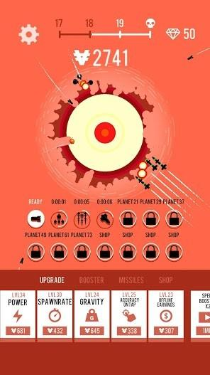Planet Bomber! APK MOD Imagen 4