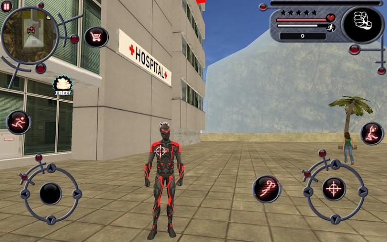 Rope Hero APK MOD Image 3