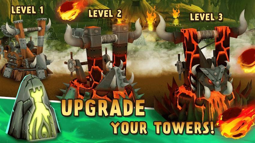 Archers Kingdom TD - Best Offline Games APK MOD Imagen 3