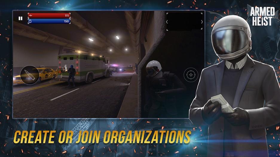 Armed Heist APK MOD Imagen 4
