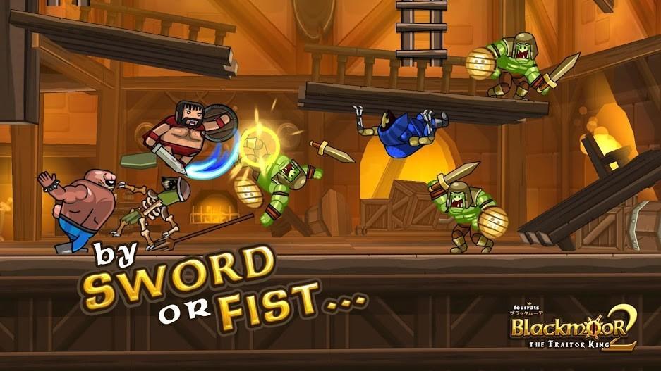 Blackmoor 2 Fantasy Action Platformer APK MOD Imagen 3
