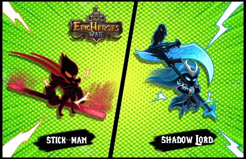 Epic Heroes War APK MOD Imagen 3
