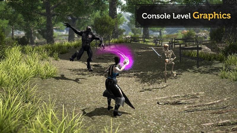 Evil Lands Online Action RPG APK MOD imagen 1
