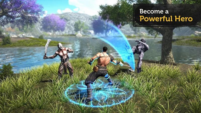 Evil Lands Online Action RPG APK MOD imagen 2