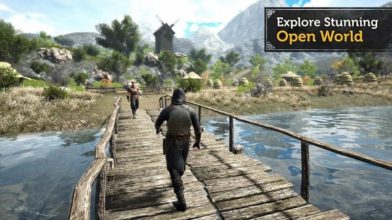 Evil Lands Online Action RPG APK MOD imagen 3