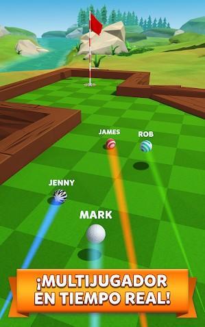 Golf Battle APK MOD Imagen 1