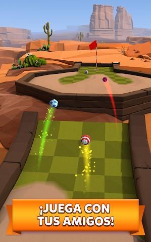 Golf Battle APK MOD Imagen 2