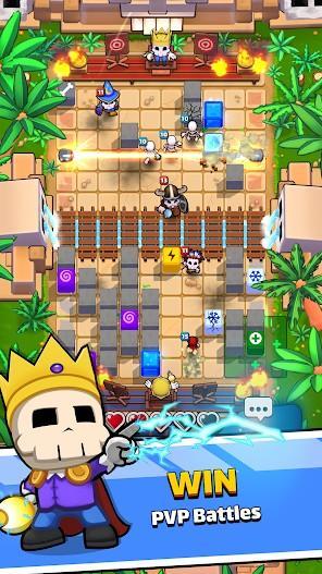 Magic Brick Wars APK MOD Imagen 2