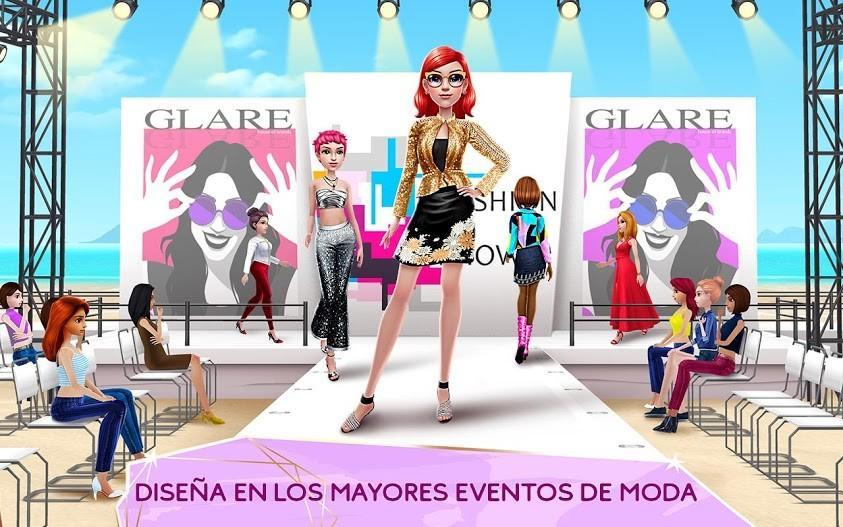 Super Stylist - Dress Up & Style Fashion Guru APK MOD Imagen 2