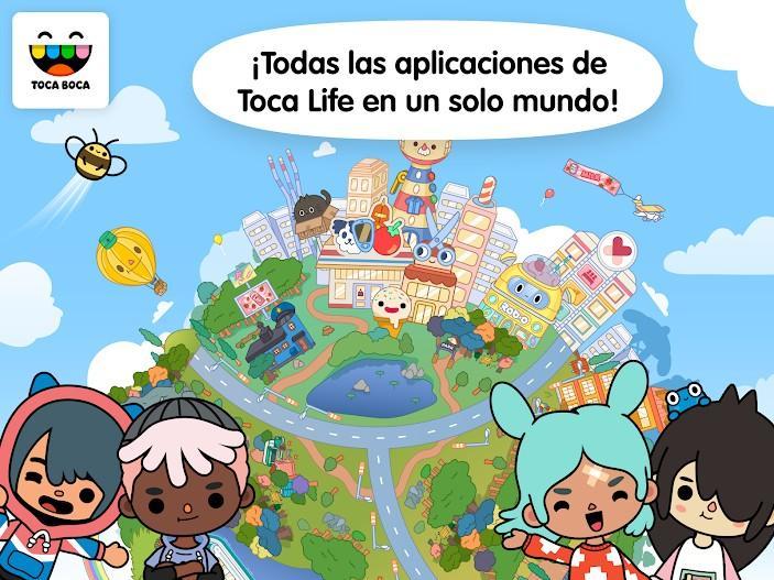Toca Life World APK MOD Imagen 2