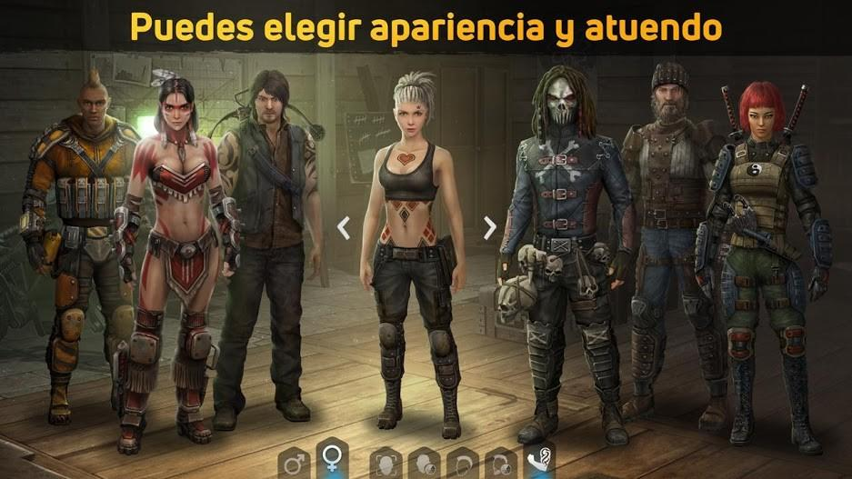 Dawn of Zombies Survival APK MOD Imagen 1