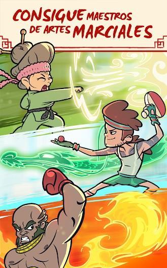 Kung Fu Clicker APK MOD Imagen 2
