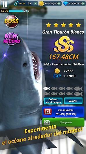 Monster Fishing 2020 APK MOD Imagen 1