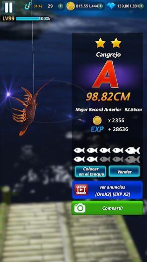 Monster Fishing 2020 APK MOD Imagen 5