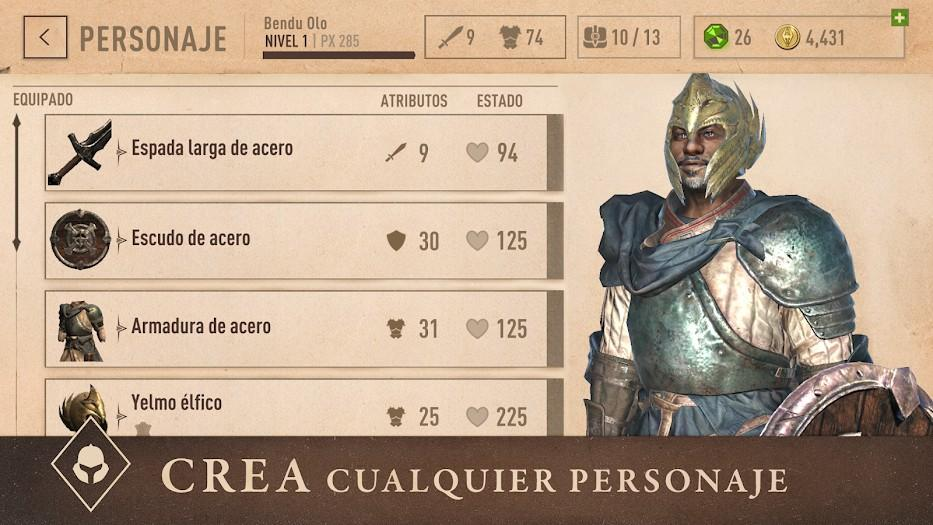 The Elder Scrolls - Blades APK MOD Imagen 3