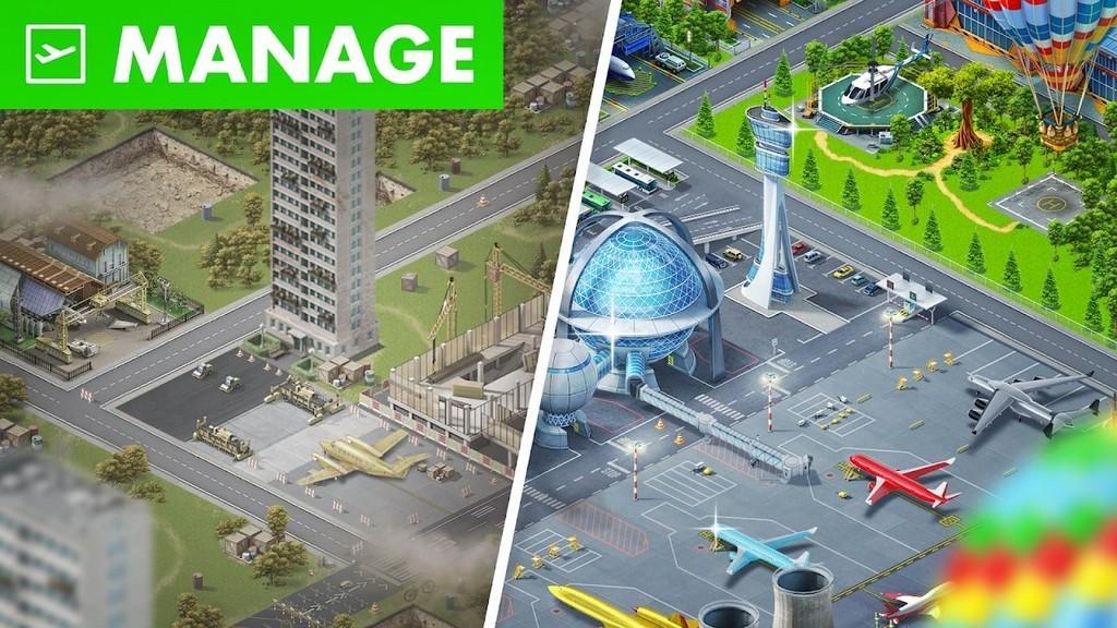 Airport City MOD APK - Gameplay