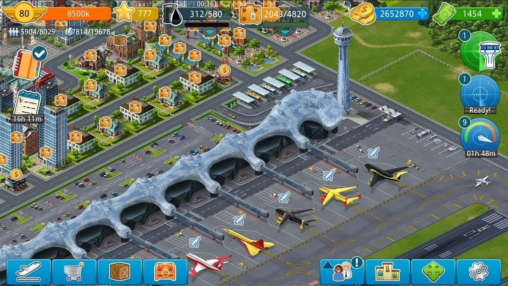 Airport City MOD APK - Aviones