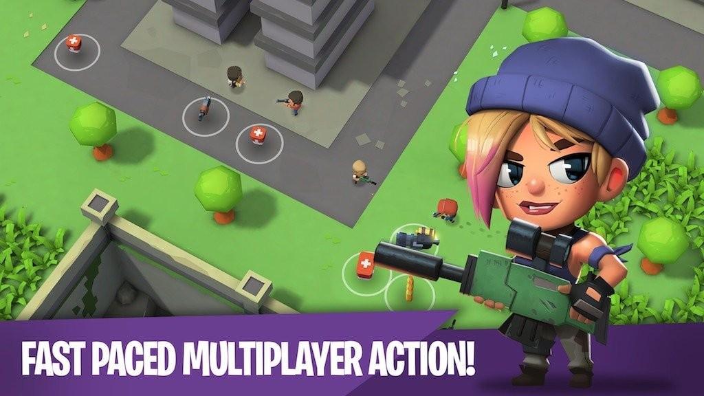 Battlelands Royale APK Gameplay