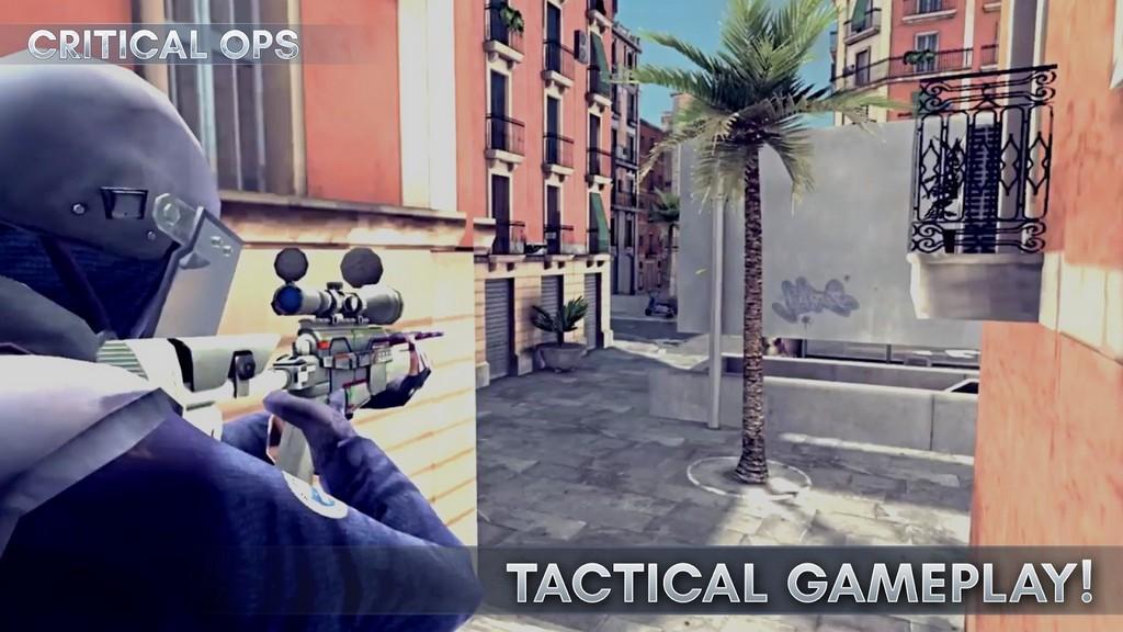 Critical Ops MOD APK - Gameplay