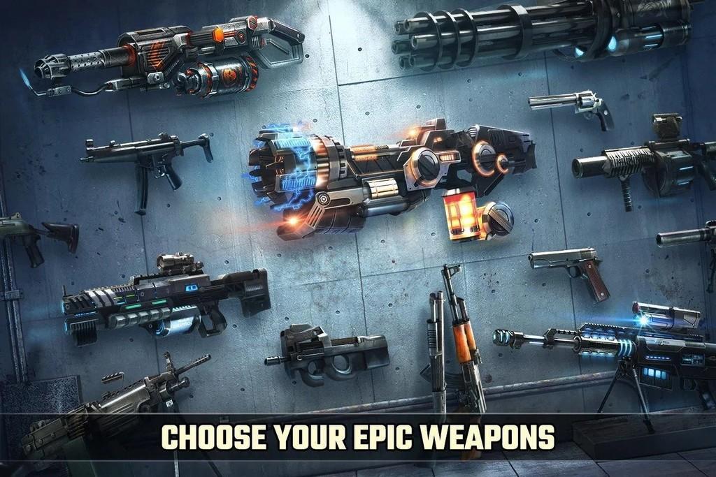 Dead Target MOD APK - Armas epicas