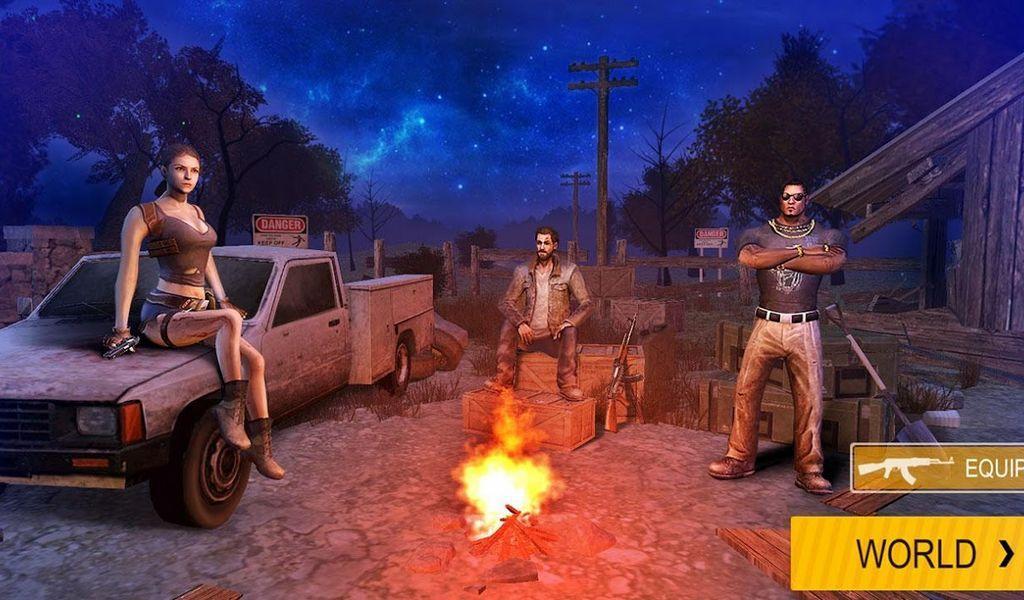 Death Invasion Survival APK MOD imagen 1