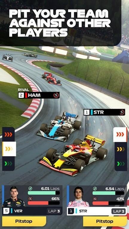 F1 Manager APK Gráficos