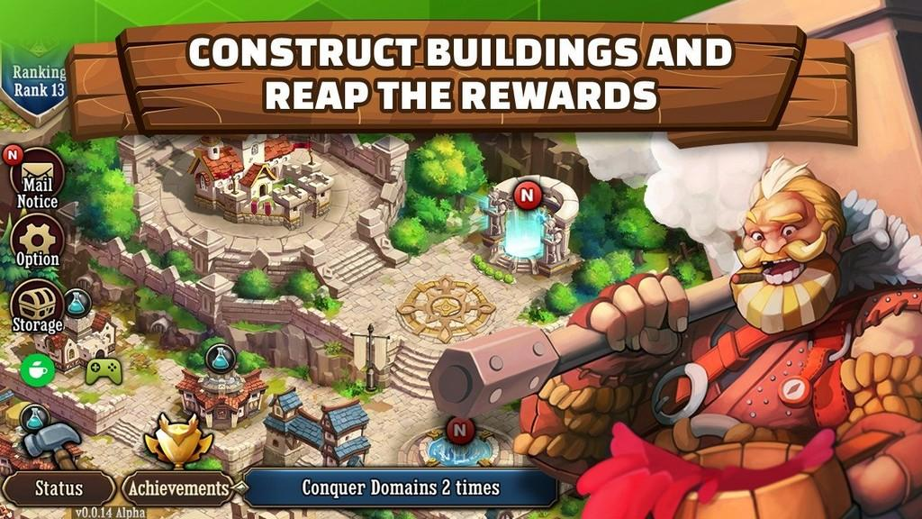 First Hero APK - Construye tu reino