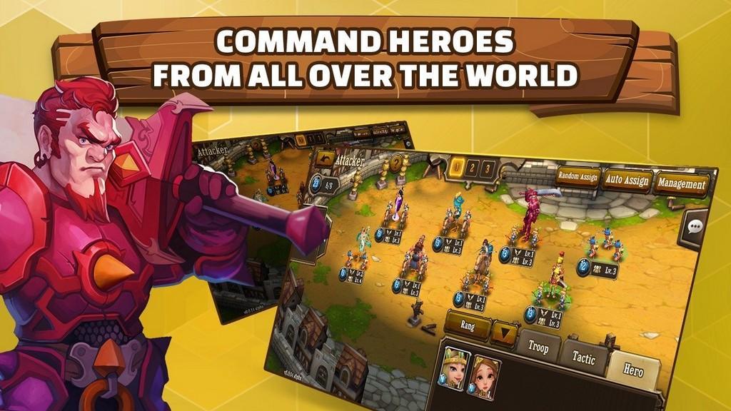 Comando Heros por todo el mundo
