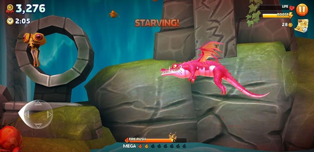 Hungry Dragon MOD APK - Vuela y vuela