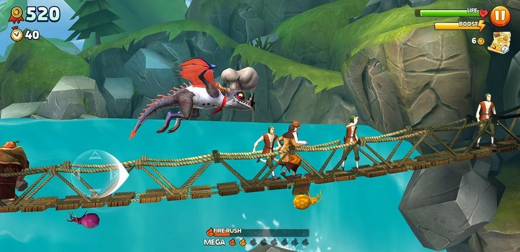 Hungry Dragon MOD APK - Gameplay