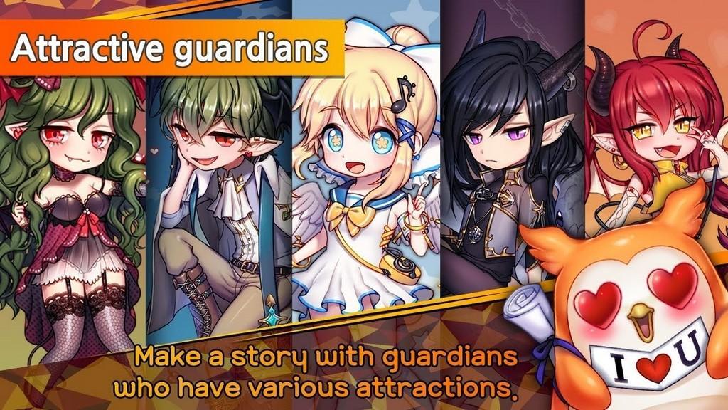 Guardianes atractivos