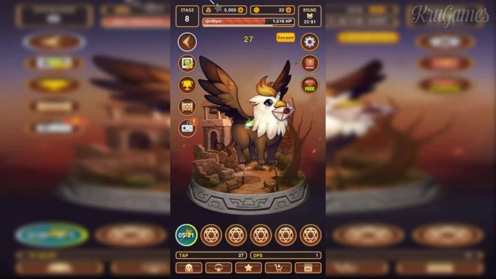 Lutie RPG Clicker MOD APK - Gameplay