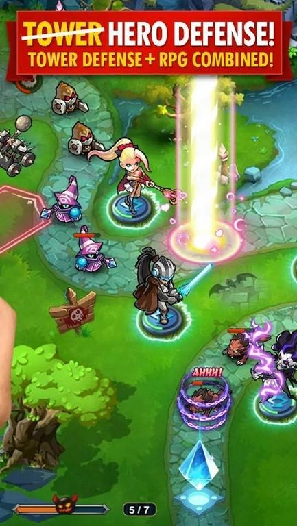 Magic Rush: Heroes APK - Defiende tu reino
