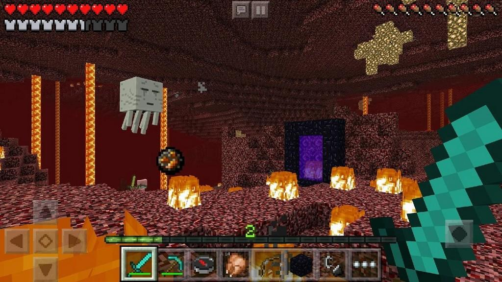 Minecraft MOD APK Gameplay