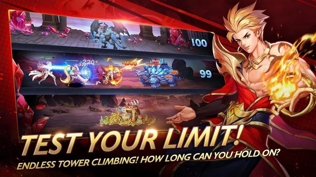 Mobile Legends: Adventure APK - Modo PvP y PvE