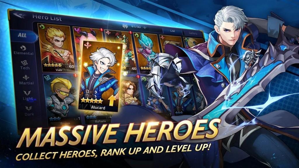 Mobile Legends: Adventure APK - colecciona personajes