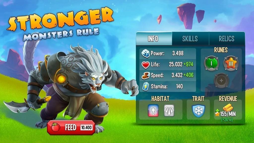 Monster Legends MOD APK Monstruos fuertes!