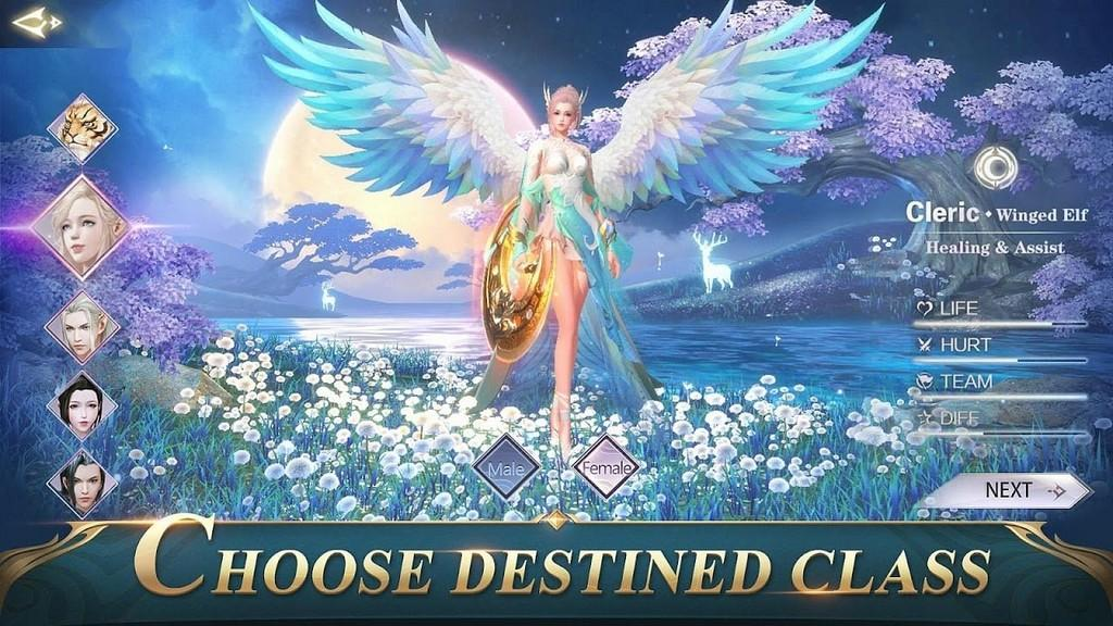 Perfect World Mobile APK - Gameplay