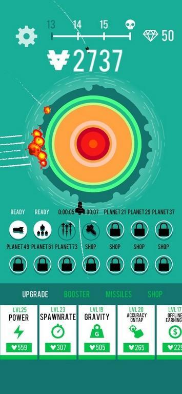 Planet Bomber MOD APK - Gameplay