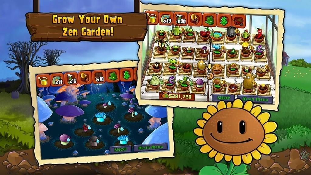 Plants vs. Zombies MOD APK Jardín