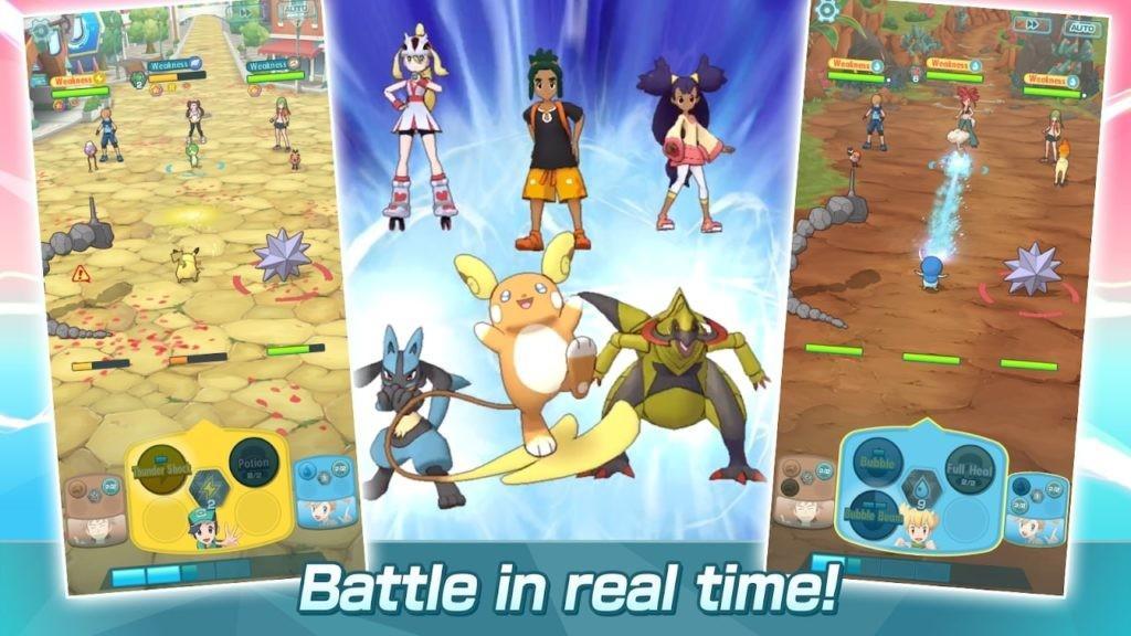 Pokémon Masters APK - Partidas en tiempo real