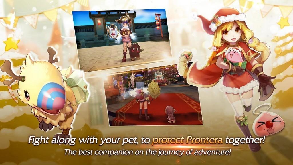 Ragnarok M: Eternal Love APK - Mascotas en el campo de batalla