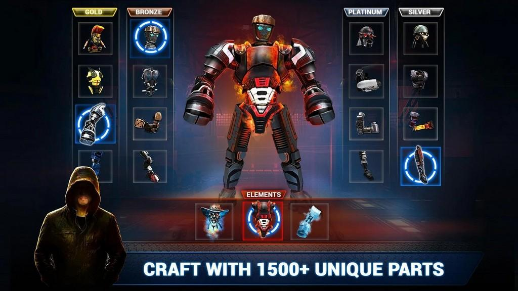 Real Steel Boxing Champions MOD APK - Gameplay