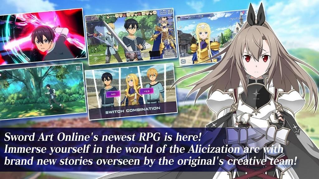 Sword Art Online Alicization Rising Steel MOD APK - Historia