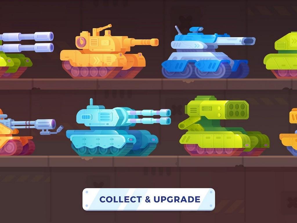 Tank Stars MOD APK - Tanques nuevos