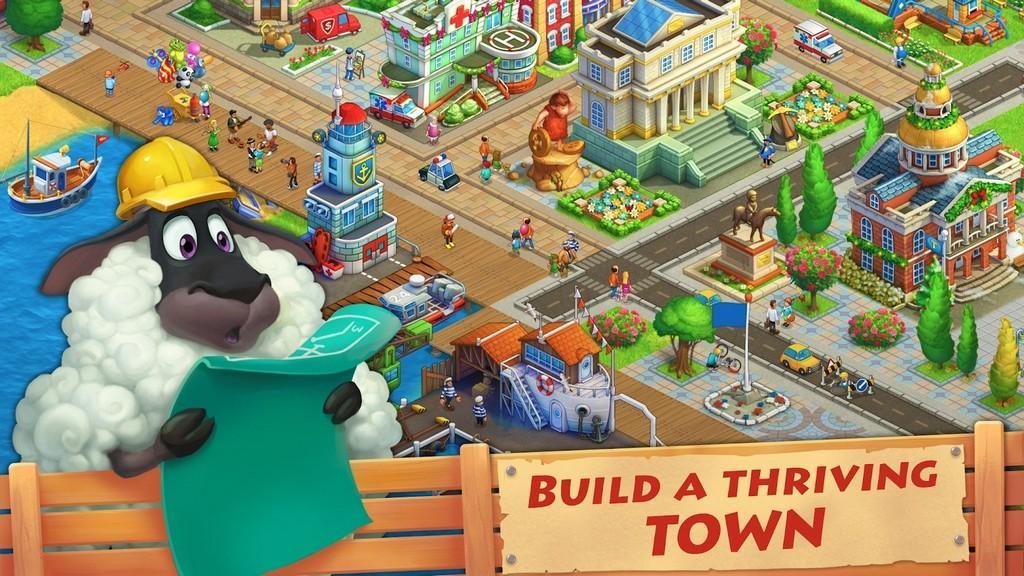Township MOD APK - Gameplay