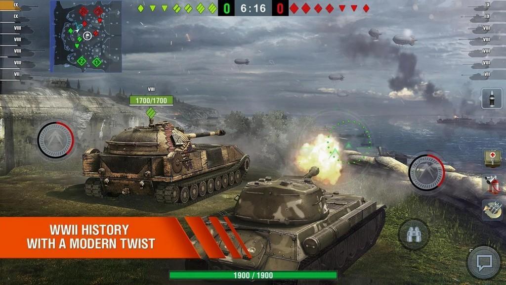 World of Tanks Blitz APK Battlefield