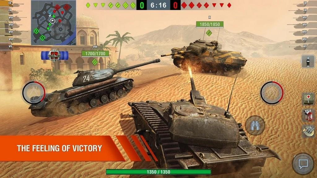 World of Tanks Blitz APK Gameplay