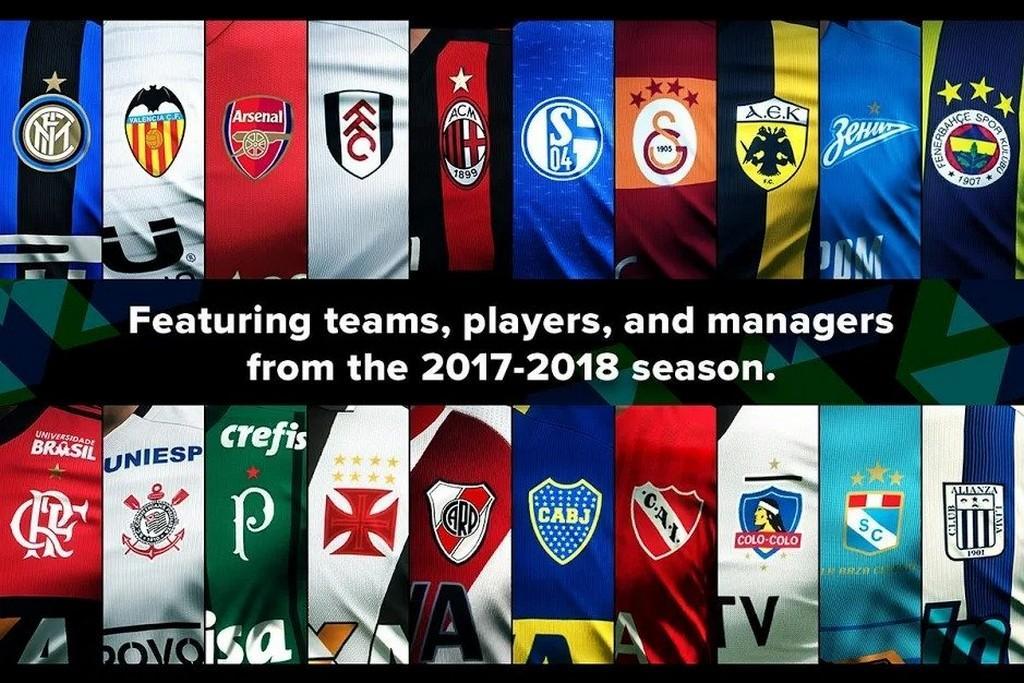 eFootball PES 2020 APK - Clubes