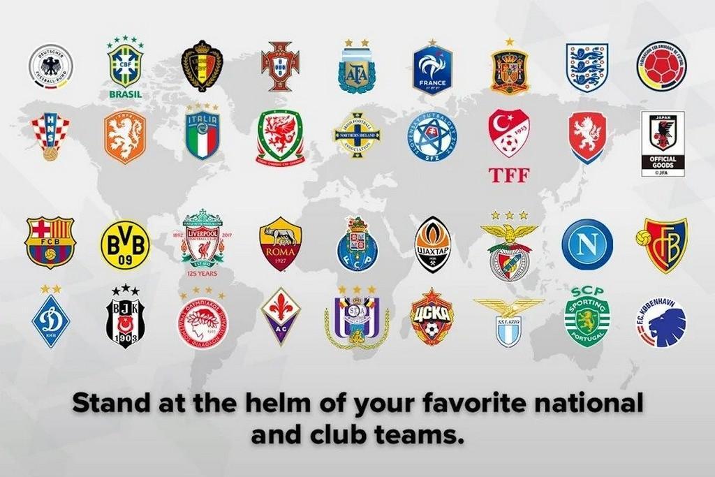 eFootball PES 2020 APK - Clubes Famosos